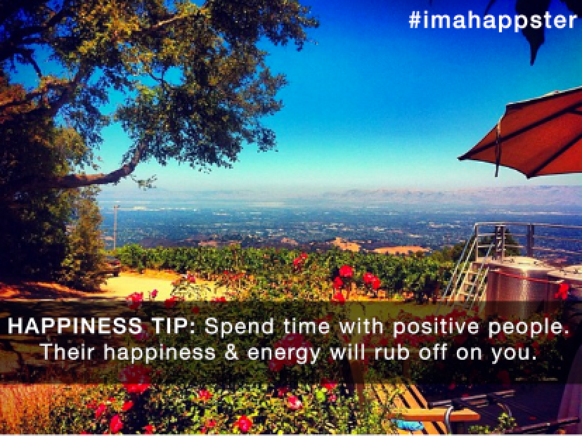 Happiness Tip: Spend Time with PositivePeople