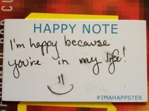 #imahappster card