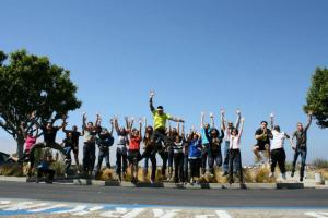 The IDEA Tribe took a jumping picture for a crazy birthday wish!