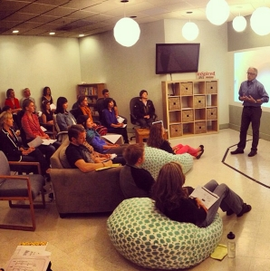 The IDEA Tribe had our first session with Will Marre yesterday, the author of The True Happiness Recipe. Great speaker!