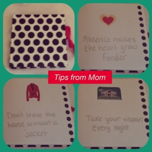 Tips From Mom Journal