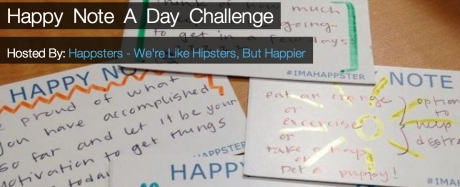 Happy Note a Day Challenge