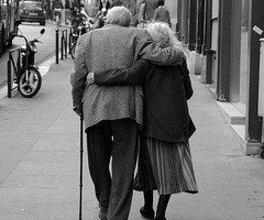 seeing old people in love