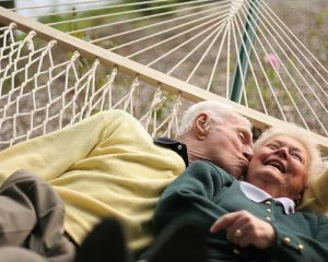 Hammocks & Old Couples