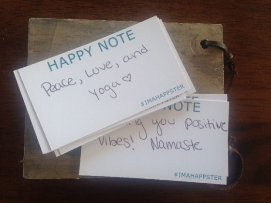 Yoga Happy Notes
