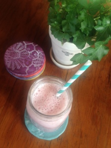 Smoothies on hot days
